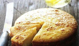 Яблочный пирог из кукурузной муки