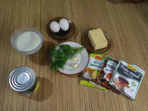 Салат с сыром и кукурузой