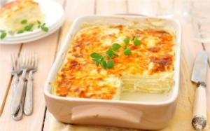 Аппетитная запеканка из кабачков с сыром