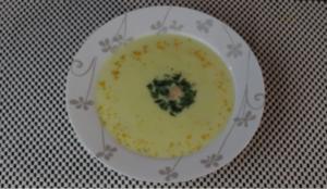 Суп-пюре из морепродуктов со сливками