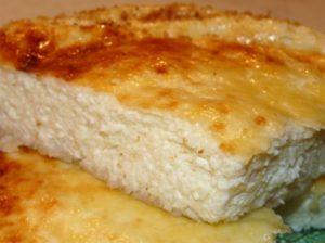Рецепт запеканки с манкой и сметаной