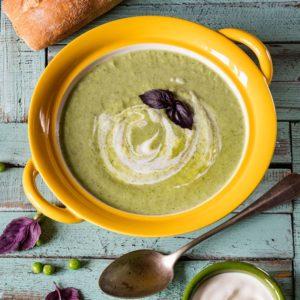 Крем-суп из цуккини