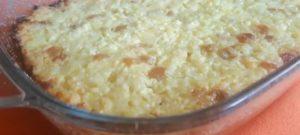 Творожно-рисовая запеканка в духовке: пошаговый рецепт
