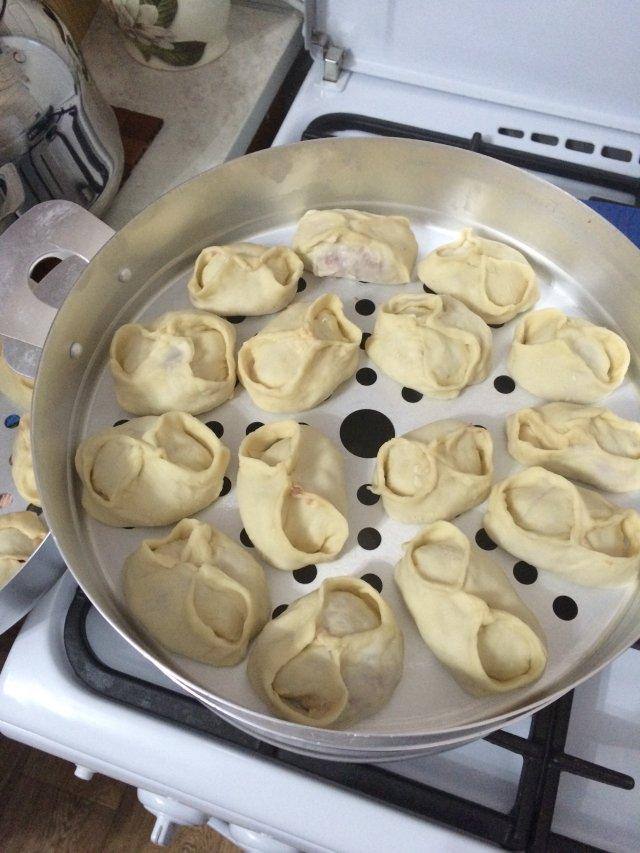 Тесто на манты рецепт с фото пошагово