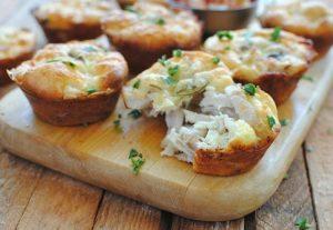 Куриные маффины с сыром: рецепт с фото