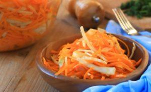 Салат из тыквы и моркови с яблоком для похудения