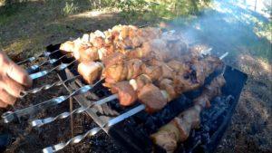 Маринад для шашлыка из говядины с киви