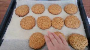Печенье овсяное с тыквенными семечками - рецепт пошаговый с фото