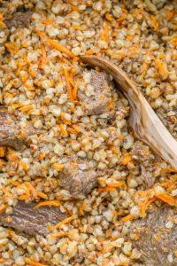 Как вкусно приготовить гречневую кашу с мясом