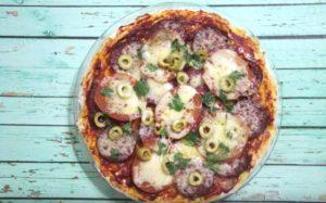 Быстрая и вкусная пицца в микроволновке за 5 минут
