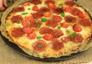 Вкуснейшая пицца на картофельной основе в духовке