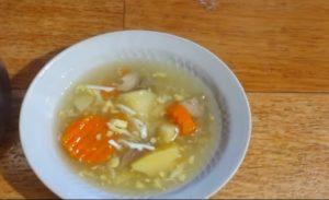 Уха из головы карпа – простейший рецепт вкусного и полезного супа