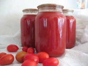 Натуральный томатный сок на зиму через мясорубку