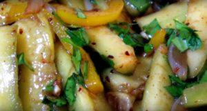 Салат из жареных огурцов на зиму – удивите гостей необычной закуской