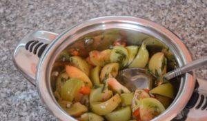 Зеленые помидоры по-армянски на зиму: самый правильный рецепт