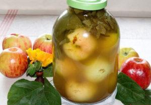 Мочёные яблоки рецепт в домашних условиях