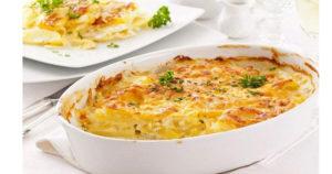 Гратен с курицей и картошкой в духовке – нежное блюдо, тающее во рту