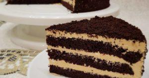 Торт Черный принц на сметане: классический рецепт