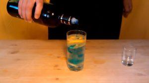 Алкогольный коктейль Голубая лагуна: рецепт, состав, сколько градусов