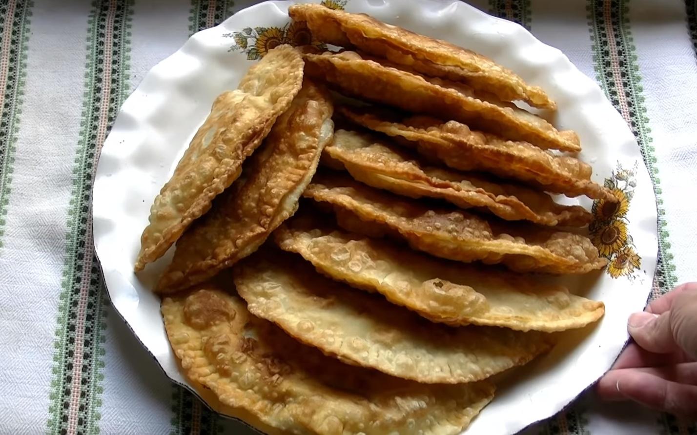 Чебуреки домашние рецепт с фото пошаговый