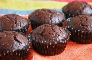 Рецепт Новогодних шоколадных маффинов