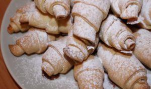 Печенье «Рогалики» с мармеладом: рецепт с фото