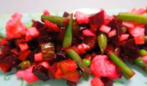 Винегрет без картошки для похудения: классический рецепт