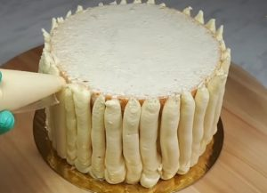 Заварной крем Пломбир для торта со сметаной