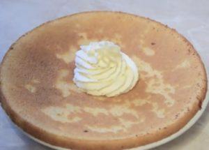 Заварной крем Пломбир со сливками для торта