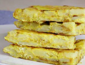 Испанская «Тортилья» с картошкой и яйцом на сковороде: классический рецепт